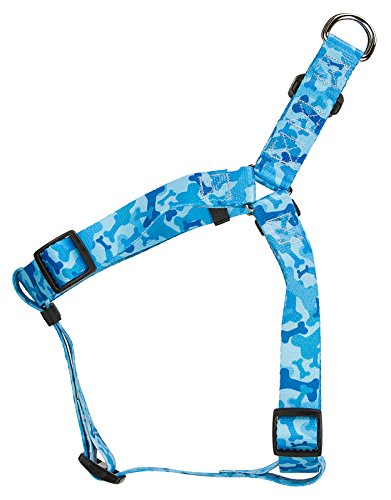 [Country Brook Design® Blue Bone Camo Step-In Dog Harness - Extra Small] (Bb 8 Dog Costume)