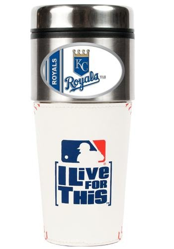 MLB Kansas City Royals 16oz Baseball Travel Tumbler at Amazon.com