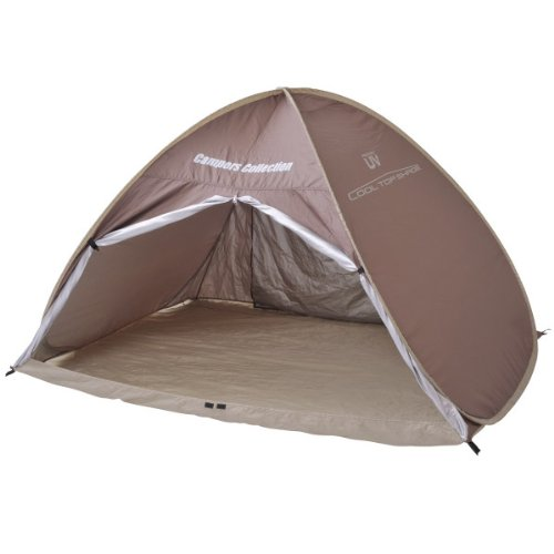 Campers collection クールトップワンタッチサン shade (approximately 3 for) Brown OBT-6SUV (BR)