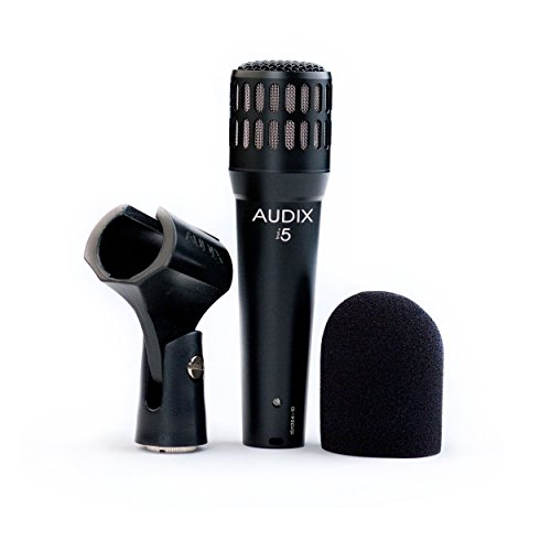 Audix I5 Dynamic Instrument Microphone For Live Stage, Studio, Vocals And Instrument Use