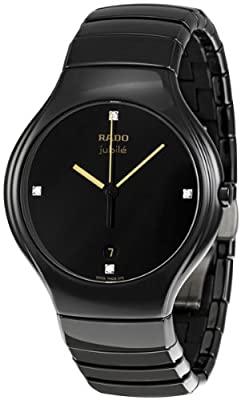 Rado True Jubile Black Ceramic Mens R27653752