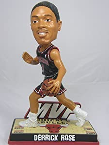 Derrick Rose Chicago Bulls MVP Action Pose Bobblehead by Forever Collectibles