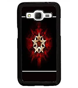 PrintDhaba Star Pattern D-1319 Back Case Cover for SAMSUNG GALAXY CORE PRIME (Multi-Coloured)