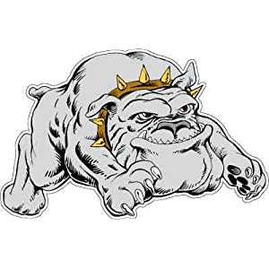 Amazon.com: English Bulldog Cartoon Dog Car Bumper Sticker Decal 5