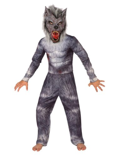 Kids-Costume Werewolf Kids Costume Sm 4-6 Halloween Costume - Child 4-6