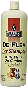 DeFlea Ready to Use Flea & Tick Shampoo for Dogs and Cats 33.8oz