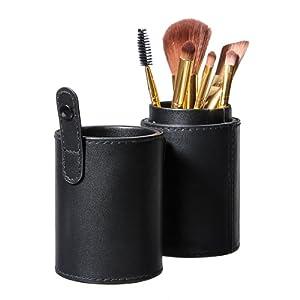 1 Boite Trousse Noir Maquillage Pinceaux Brush Holder Vide Etui Toilette Cosmetique