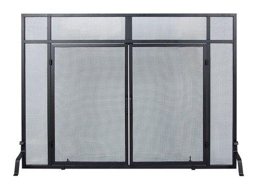 Minuteman international s 66 windowpane screen with doors for International decor gates