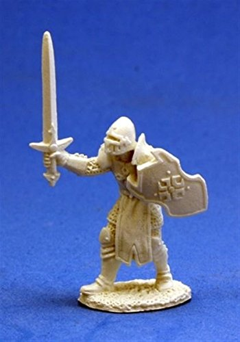 Male Human Warrior - Dark Heaven Bones Miniature - 1