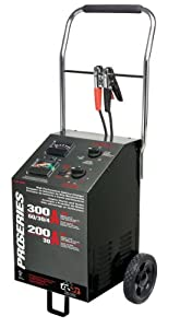 Schumacher PSW-3060 DSR ProSeries 300/200/60/30 Amp 6/12 Volt Manual Wheel Battery Charger/Starter