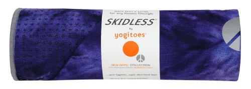 Imagen de Yogitoes Skidless ® ® Premium Tamaño Yoga Mat toallas (Nueva Hippie - Lapis - azul tie-dye), color lapislázuli (azul profundo tie-dye)