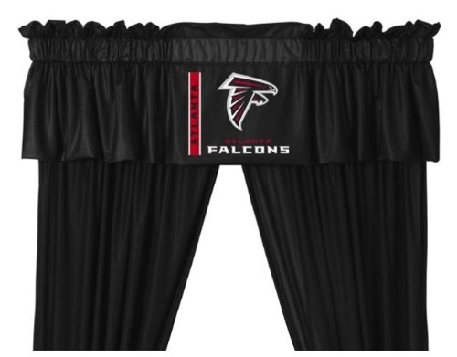 Atlanta Falcons Window Treatments Valance and Drapes at Amazon.com