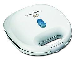 Morphy Richards SM3007(G) 750-Watt 2 Slice Grill Toaster (White)