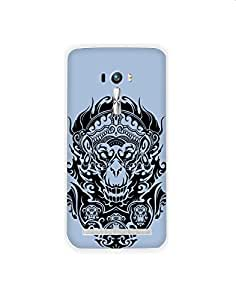 Asus Zenfone Selfie nkt01 (73) Mobile Case from Mott2 - Evil - See No, Say No... (Limited Time Offers,Please Check the Details Below)