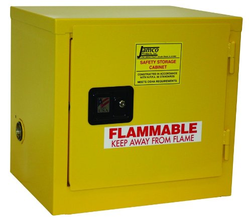 Jamco Products Inc BA06-YP 6 gallon Safety Cabinet for ...