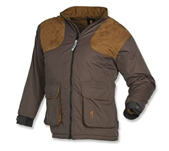 Buy Browning Mens Ballistic Insulated Shooting Jacket, Charcoal Brown, L 3040147903 by Browning