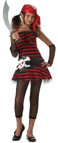Pirate Grrrl Tween Costume - Kid's Costumes