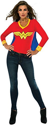 Women's Wonder Woman Tee with Cape
