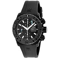 [エドックス]EDOX 腕時計 クロノオフショア ブラック文字盤 限定250本 ステンレス(BKPVD)ケース 自動巻 500M防水 01111-37N-NIN メンズ 【並行輸入品】