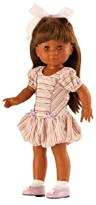 "Amazon.com: Paola Reina Soy Tu Amor African American 17"" Doll (Made in"