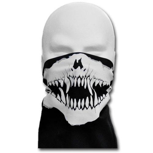 windmask biker vampier monster face bandana gesicht tuch zum binden variante mit nasenb gel. Black Bedroom Furniture Sets. Home Design Ideas