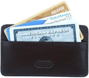 Leatherbay Card Holder Leather Wallet - Dark Brown - Buy Leatherbay Card Holder Leather Wallet - Dark Brown - Purchase Leatherbay Card Holder Leather Wallet - Dark Brown (Leatherbay, Apparel, Departments, Accessories, Wallets, Money & Key Organizers, Billfolds & Wallets, Leather)