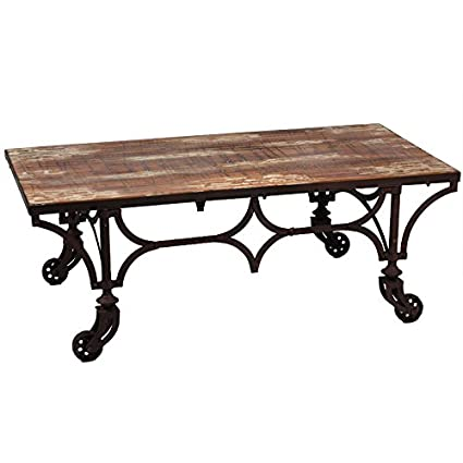 Benzara ETD-EN50110 Timeless and Sturdy Classic Wood Coffee Table
