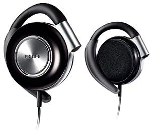 Philips Adjustable Earclip Headphones SHS4700/28 (Black)