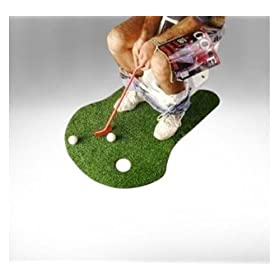 Forum 61225 Potty Putter Toilet Time Golf Game