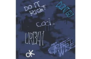 Streetwise Wallpaper - Blue from manufacturer