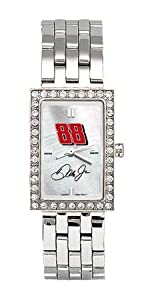 LogoArt Dale Earnhardt, Jr. Ladies Allure Stainless Steel Watch - Dale Earnhardt, Jr... by Nascar Officially Licensed