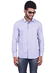 New Yorker Men's White Casual Shirt - B00TF0CVLW