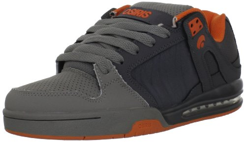 Osiris Men's Pixel Chr/Grey/Orange Trainer 11961808 8 UK, 9 US