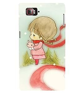 EPICCASE charming girl Mobile Back Case Cover For Lenovo Vibe Z2 Pro K920 (Designer Case)