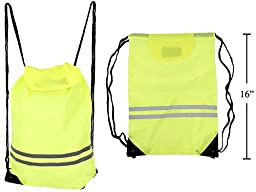 Reflective Safety Backpack Bag for Cycling and/or Running