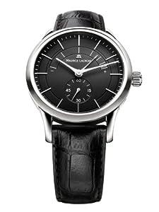 Maurice Lacroix Men's LC7008-SS001330 Les Classiques Black Power Reserve Indicator Dial Watch
