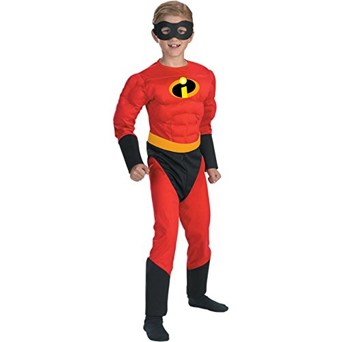 Child's Mr. Incredible Halloween Costume (Size: Large 7-8)