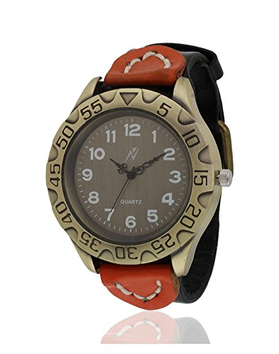 Yepme Men's Analog Watch – Brown/Black — YPMWATCH2174