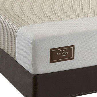 Sealy Embody Perspective Latex Mattress   King   Set Reviews