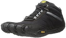 Vibram Men\'s Trek Ascent Insulated Walking Shoe, Black, 42 EU/9.5-10 D US
