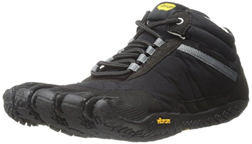 Vibram Men's Trek Ascent Insulated Walking Shoe, Black, 41 EU/9-9.5 D US (Insulated Walking Shoes compare prices)