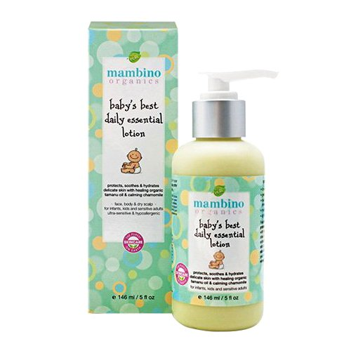 Mambino Organics Baby's Best Daily Essential Lotion, 5 Fluid Ounce