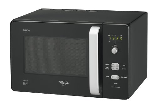 Whirlpool MWD244BL Compact Microwave Oven with Grill, Black