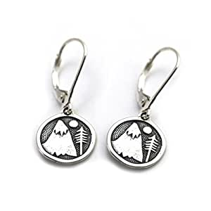 Amazon.com : Tarma Sterling Silver Mountains for Me Earrings, One Size