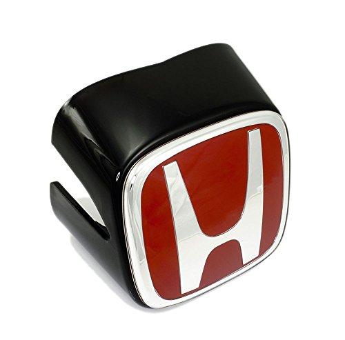 Genuine RED Honda H FRONT BADGE Emblem with BLACK HOUSING Base for Honda Acura Integra RSX Type R DC5 JDM 02 03 04 2002 2003 2004 (Integra Honda Emblem compare prices)