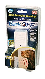 Bark Off Ultrasonic Dog Training Aid - As Seen on TV