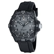 Mens Swiss Eagle Ever Brite Grey Dial Tritium Illuminated Watch
