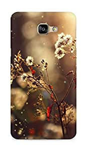Amez designer printed 3d premium high quality back case cover for Samsung Galaxy A9 (daisy )