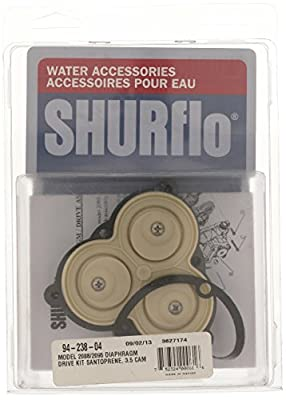 SHURflo 94-238-04 Diaphram Pump with Lower Housing Kit