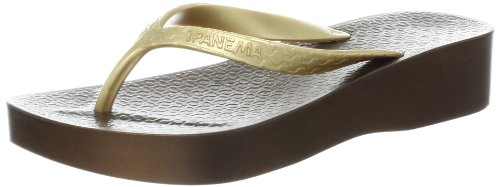 Bronze Wedge Sandals front-1021847